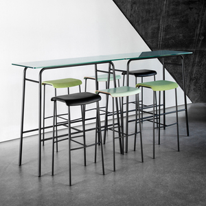 BAR STOOLS AND -TABLES