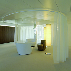 ROOM DIVIDER / CUBICLE TRACK  SYSTEMS