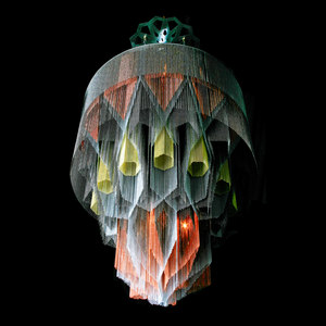 ILLUMINATED SCULPTURAL ART PIECES