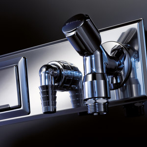 CONNECTION TECHNOLOGY FOR WASHING MACHINE AND WASH BASIN