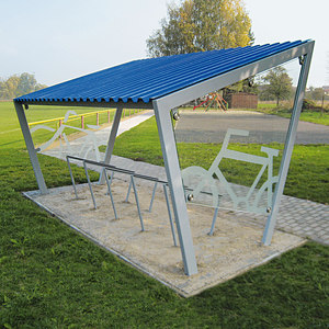 BICYCLE SHELTERS