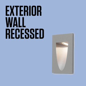 EXTERIOR WALL RECESSED