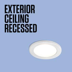 EXTERIOR CEILING RECESSED