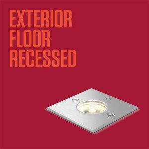 EXTERIOR FLOOR RECESSED