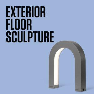 EXTERIOR FLOOR SCULPTURE