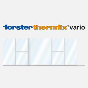 forster profile systems alles von forster profile. Black Bedroom Furniture Sets. Home Design Ideas