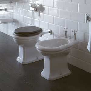 PANS AND BIDET WALL SPACED