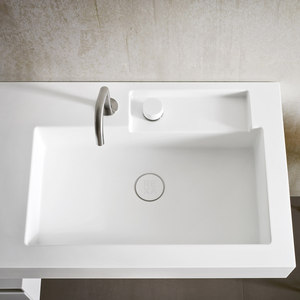Integrated washbasin top