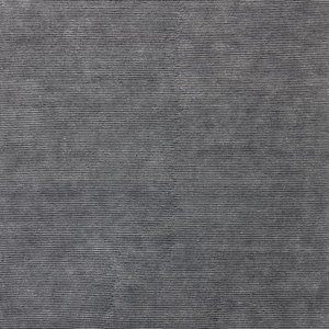 HAND-KNOTTED PILE RUG IN WOOL AND LINEN