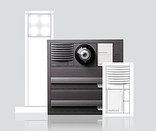 siedle vario unterputz briefkasten briefk sten von siedle architonic. Black Bedroom Furniture Sets. Home Design Ideas