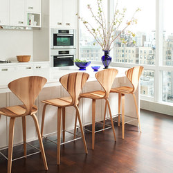 Cherner Wood Base Stool