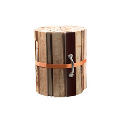 CR Natural wood stool