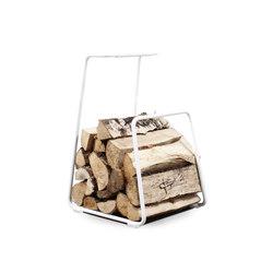 Log woodbasket