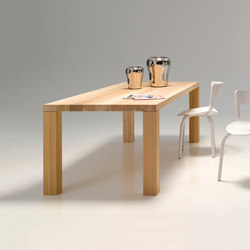 solid-wood table