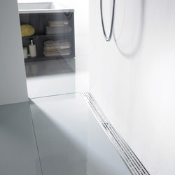 ACO ShowerDrain E-line straight: Design gratings