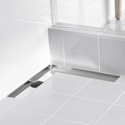 ACO ShowerDrain E-line angled: Channels