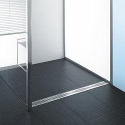 ACO ShowerDrain C-line: Design gratings