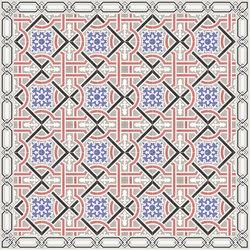 1100_200 Standard assortment cement tiles