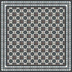 12572_200 Standard assortment cement tiles