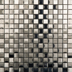 Noohn Metal Mosaics Acero Niquel Cobre