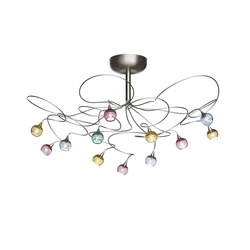 Colorball ceiling lamp