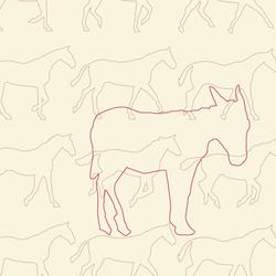 03 Esel & Pferde