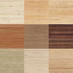 Plexwood - Holzarten