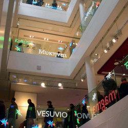 powerglass® balustrade: Galeries Lafayette