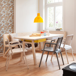 Stijl table and bench
