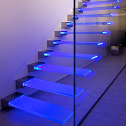 Madras® glass for stairs