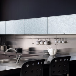 Madras® glass for kitchen furniture
