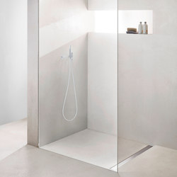 TECEdrainline shower channels stainless steel