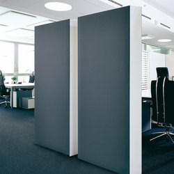 Acoustic elements cupboard back absorber