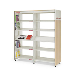 BBL shelving system for libraries