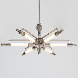 "Pendant Lamp ""Metropolis"" in Machine Age Design"