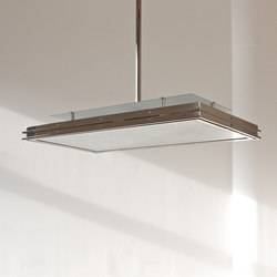 """Pendant Lamp """"Tempelhof """" in the style of the German Modernism"""