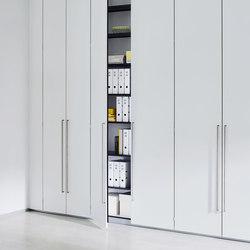 Dividing cabinet aluminium