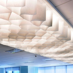 Honeycomb ceiling