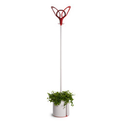 Foliage Hanger with removable pot