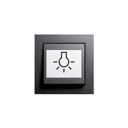 Switch with touch-activation symbol
