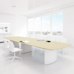 C1 Conference table | compatible to Plug & Play products