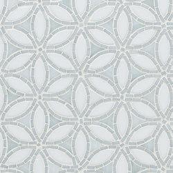 Flapper Floral Glass Mosaic