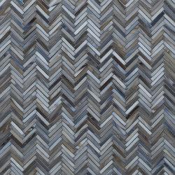 Hip Herringbone Glass Mosaic
