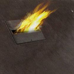 Biofire coffee table
