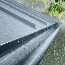 Roof drainage systems | Halfround gutter