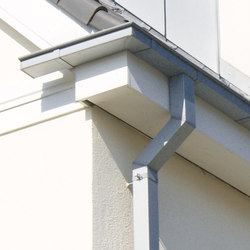 Roof drainage systems | Box shaped gutter