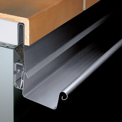 Roof drainage systems | Balcony plug-in gutter