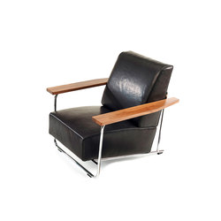 Lovell Easy Chair Steel