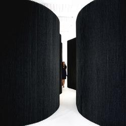 softwall + softblock | black textile