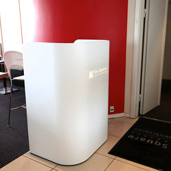 Impact lectern 2 with Corian® front